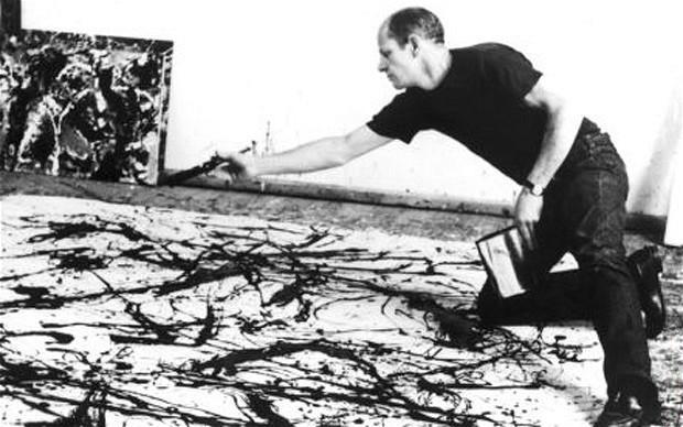 Action Art (Tachisme) Focus : Jackson Pollock | VIVACE EXCLUSIVE
